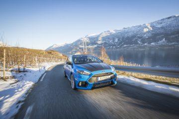 In Norvegia con la prima Ford Focus RS Taxi