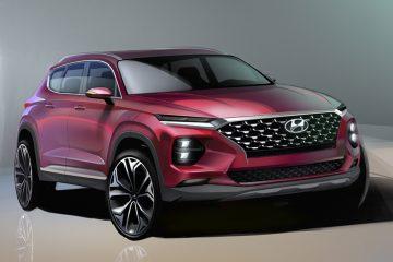 Hyundai  rinnova il SUV Santa Fe, sarà esposto a Ginevra