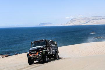 IVECO nella Top 5 delle classifiche Africa Eco Race e Dakar