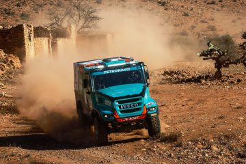Team PETRONAS IVECO a podio Africa Eco Race 2018