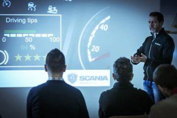 Autisti (800!) a scuola di guida efficiente con Scania