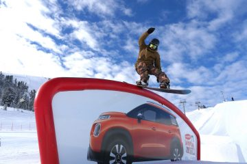 Snow park di Obereggen con Citroen Unconventional Team