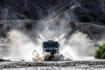 Dakar 2018: IVECO vince quinta tappa nella lotta per il titolo