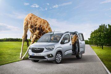 Opel lancia Combo Life per il lavoro e la famiglia