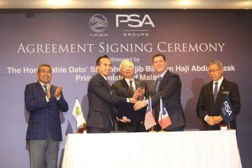 Centro Di Produzione NAZA Corp. e Groupe PSA In Asia