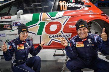 Peugeot / Andreucci ancora insieme nell'Italiano Rally 2018