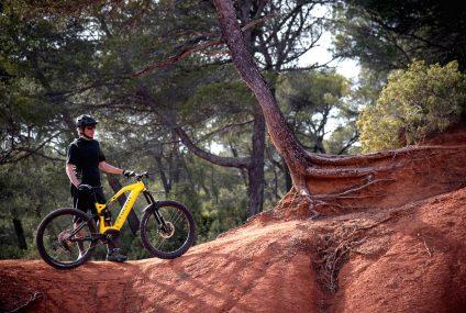 Mountain-Bike Elettrica con batteria nel telaio By Peugeot