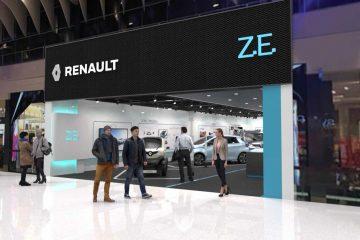 Apre Primo Concept Store Renault su Veicolo Elettrico