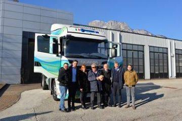 Spezzano Trasporti con Scania per la Sostenibilità