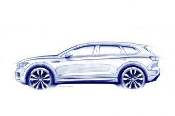 Nuova Volkswagen Touareg in Cina, lancio il 23 marzo