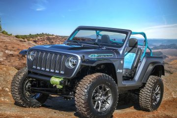 Jeep e MOPAR all'assalto di deserto e futuro in 4×4