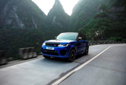 Range Rover Sport abbassa record su Tianmen Road