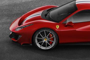 Sono Michelin gli pneumatici della nuova Ferrari 488 Pista