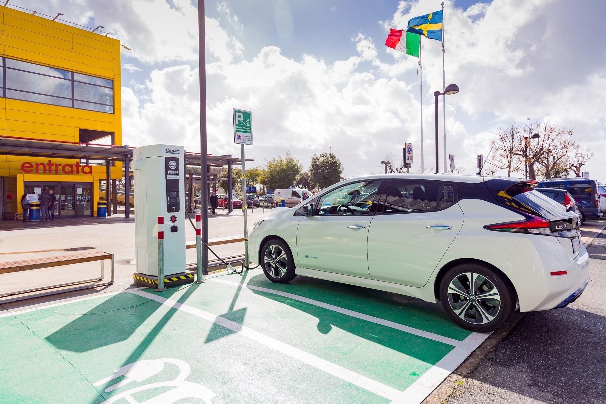 Nissan E Ikea Accelerano La Mobilità Elettrica In Italia Videomotori