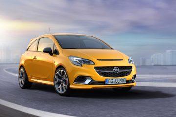 Piccola e sportiva, si rinnova Opel Corsa GSi