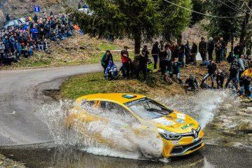 Parte stagione rally con Trofeo Clio R3 E Twingo R1 TOP