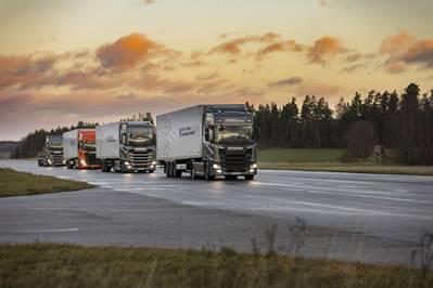 "Scania implementa ""platooning"" a guida semi-autonoma"