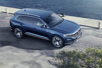 Presentata in Cina nuova Volkswagen Touareg