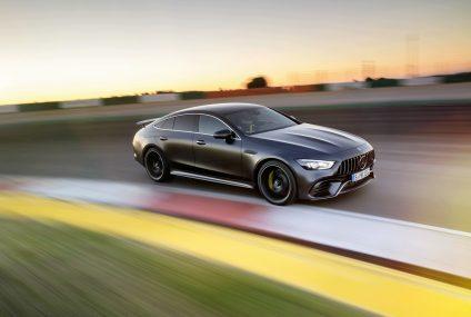 Nuova Mercedes-AMG GT Coupé a 4 porte