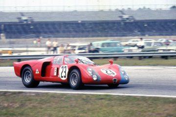 Alfa Romeo Tipo 33/2 Daytona al Motor Legend Festival