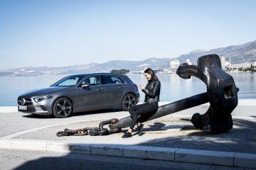 Mercedes lancia Classe A terza generazione