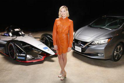 Nissan, Margot Robbie e la Formula E a Los Angeles