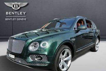 Bentley Auto ufficiali al salone di Genova 2018