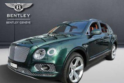 Bentley Auto ufficiali al salone di Genova 2018