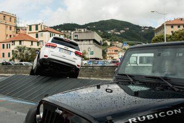 FCA Autonomy con Jeep a Varazze per Mototerapia
