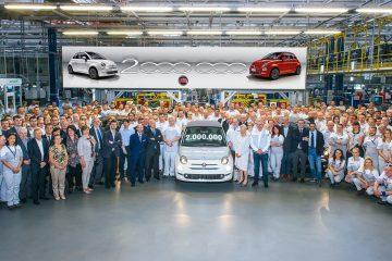 Fiat 500 taglia nuovo traguardo: prodotta la n. 2.000.000
