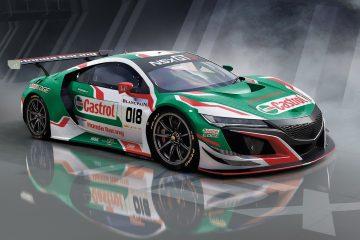 Castrol e Honda insieme alla 24 ore di Spa con NSX GT3