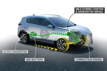 Kia lancia nuovo sistema Mild-Hybrid diesel 48 Volt