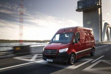 Mercedes Nuovo Sprinter vince VansA2Z Van Fleet