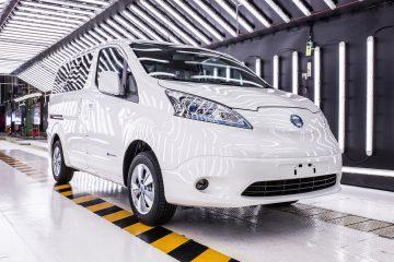 Via alle consegne del Nissan e-NV200 Van 100% elettrico