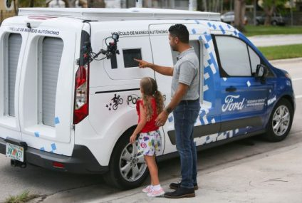 Ford e Postmates a Miami consegne a guida autonoma
