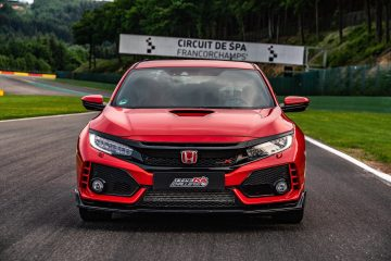 Honda Civic Type R colpisce a Spa-Francorchamps