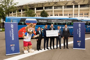 Hyundai Tucson e Santa Fe ai mondiali in Russia