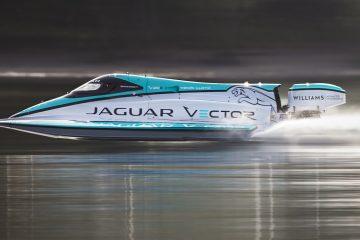 Jaguar da record in elettrico anche sull'acqua