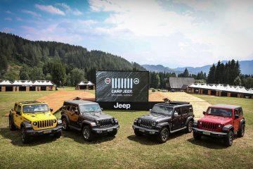 Nuova Wrangler al Camp Jeep 2018