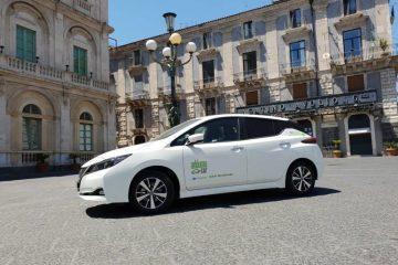 Da Nissan car sharing elettrico per turisti in Sicilia