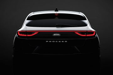 Kia svela design della shooting brake ProCeed
