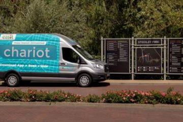 Chariot innovativo servizio navetta collettiva by Ford