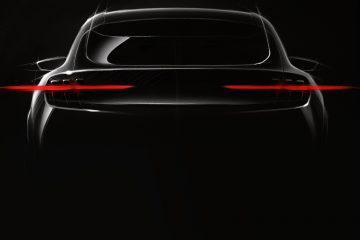 Ford svela teaser nuovo modello elettrico Mustang inspired